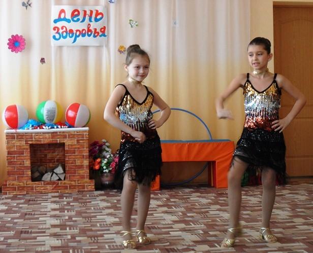 Спортивно – познавательная игра «Час здоровья» в МБДОУ «Детский сад «Тополек»