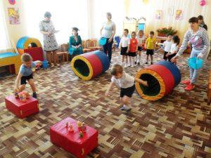 Спортивно-познавательное развлечение «Кошкин дом» в МБДОУ «Детский сад «Тополек»