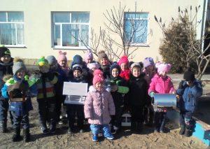 Проект «Помогите птицам зимой»