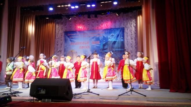Участие в  районном фестивале «Малиновый звон Пасхи»
