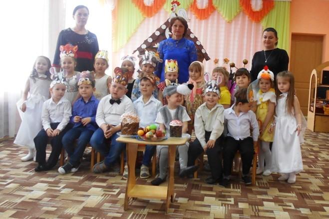 Праздник «Пасхальная сказка» в МБДОУ «Детский сад «Тополек»
