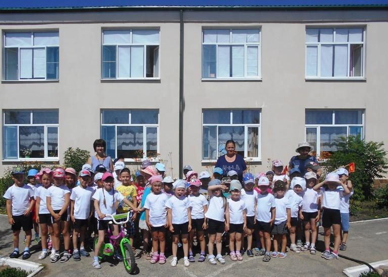 Спортивный марафон  «Россия мы дети твои!»  в МБДОУ «Детский сад «Тополек».