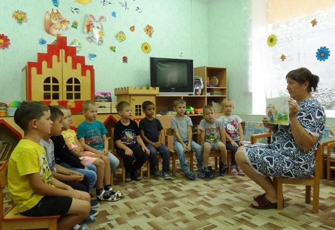 Тематическая неделя «Любимые сказки» в МБДОУ «Детский сад «Тополек»