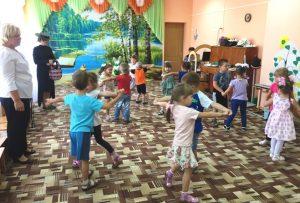 Праздник «День взросления», посвященный Дню знаний в МБДОУ «Детский сад «Тополек».