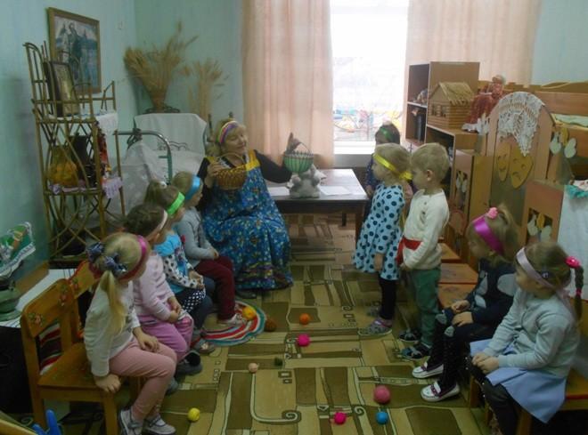 Интегрированное занятие по ознакомлению с русским фольклором «Хороший гость - дому радость»