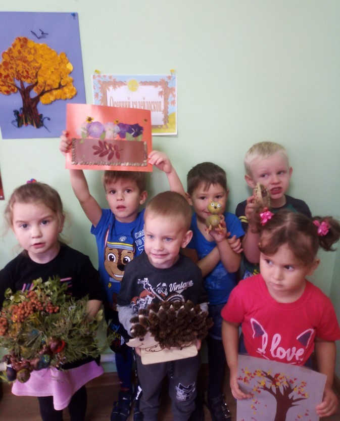 Выставка детско-родительских работ «Осенний калейдоскоп»