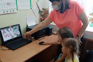 Создание короткометражного мультфильма по ПДД «Веселый автомобильчик» с детьми подготовительной группы «Семицветики»